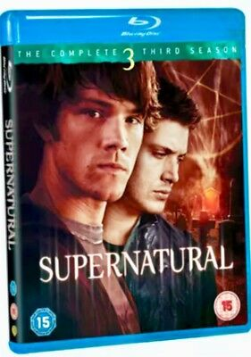Supernatural Complete Third Series 3 Season 3 Blu-ray