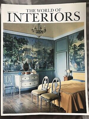Vintage The World Of Interiors Magazine March 2004