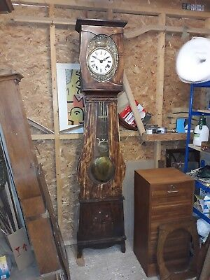 French Comtoise, Longcase ,Grandfather, Clock