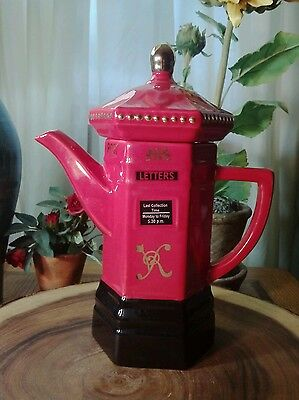 Vintage Teapot - Post Office - Memories of London Collection - London Pottery