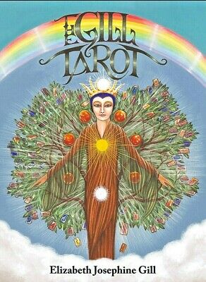 The Gill Tarot 78 Cards Deck + Instruction Booklet - Kabbalistic Tree Of Life