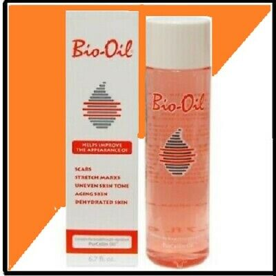 Bio Oil for Skin SCARS STRETCH MARKS UNEVEN SKIN TONE 200  ml/6.7 Oz.,USA Seller