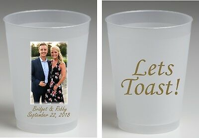 20 oz Frost flex personalized cups full color wedding cups housewarming favors
