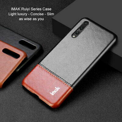 IMAK Leather Case For Huawei P20 Pro Lite Luxury Slim Business Hard Back Cover