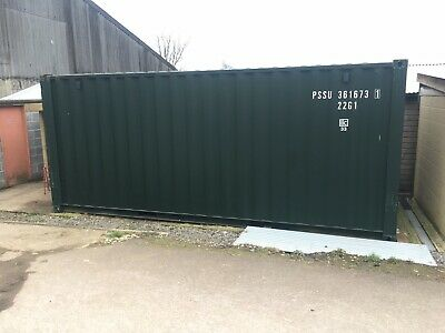Shipping Container, Insulated And Boarded, Tack Room 20ft
