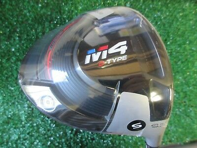 New Taylormade Golf M4 D-Type 9.5° Driver Atmos Graphite Stiff Flex Men's