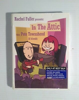 Rachel Fuller Presents: In the Attic with Pete Townshend and Friends DVD & CDs