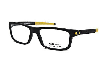 9106d17071 Oakley Currency Livestrong OX8026-0854 Satin Black 54 17 133 Eyeglasses Rx  New