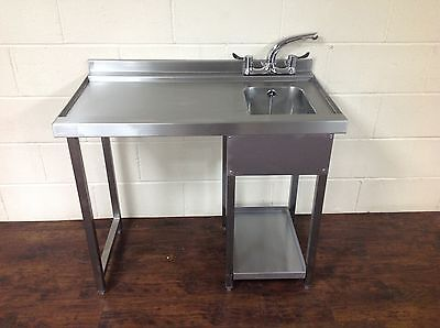 Glasswash Bar Station, Stainless Steel, Bar Sink, Anti drip
