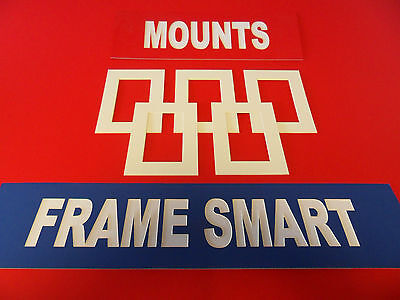 Frame Smart Antique White picture/photo mounts all sizes massive choice