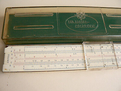 A.w. Faber  Castell  1/87  Slide  Rule  System Rietz  Boxed
