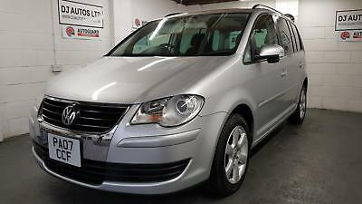 Volkswagen Touran 1.4 TSI automatic 7 seater silver japanese import