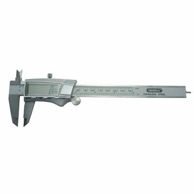 General Tools Stainless Steel Digital Caliper No.1467 6in 150mm