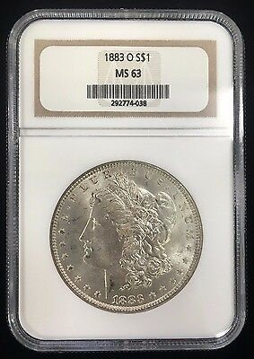 1883 O $1 Morgan Silver Dollar NGC MS 63