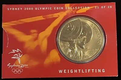 SAILING 17//28 Sydney 2000 Olympic Coin Collection $5 UNC RAM Coin