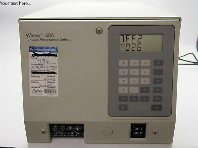 Waters 486 HPLC Tunable Absorbance Detector WAT080642