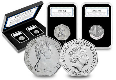 50 years of the 50p – own the limited edition 50th Anniversary Pair
