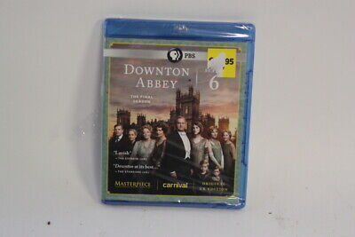 Masterpiece: Downton Abbey - Season 6 (Blu-ray, 3-Disc Set) NIP NEW