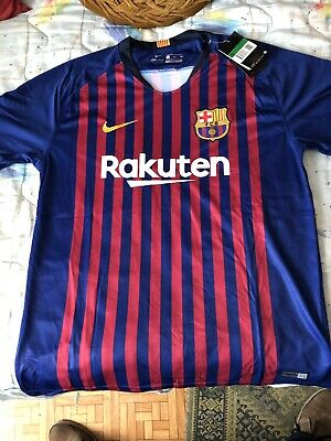 9c70c3e4e Camiseta Replica Oficial FC Barcelona 2018 2019 - Official Replica T-Shirt