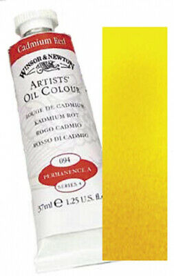 Winsor and Newton Winton Oil Paint: Indian Yellow, 37 ML