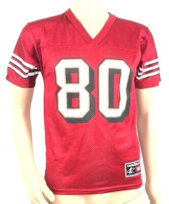 ee985c371c5 Logo Athletic Youth Vintage San Francisco 49ers Jerry Rice Jersey Red Medium