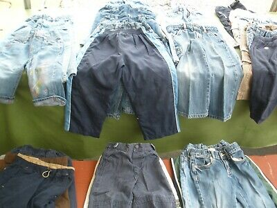 26 Piece Mixed Lot Boys/Girls 18mo. to 5T Long Pants Pre-Owned