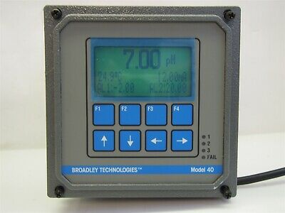 Broadley Tech 40 Rosemount 54EPHBT-01-09 Oxygen Analyzer Controller Monitor