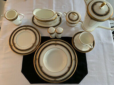 Noritake Gold and Sable #9758 Bone China - Place setting for 6 Plus