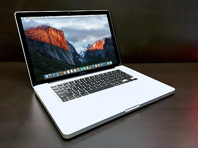 "15"" MacBook Pro Pre-Retina MacOS-2015/ 250GB / 8GB RAM/ 2 year Warranty + More"