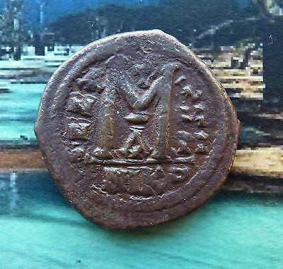 GC107 -  Byzantine Empire Follis Niccomedia / 19.65 gr / 36 mm Large coin