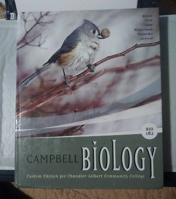 Campbell Biology by Wasserman 9th edition. Chandler gilbert community college