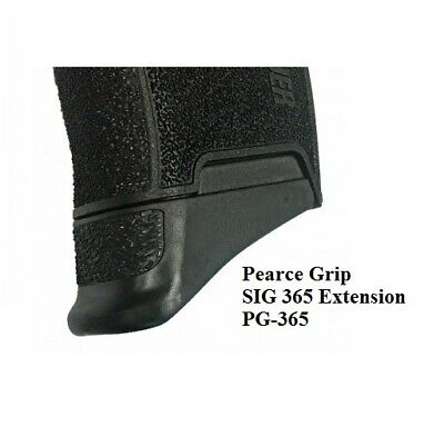 Pearce Grip PG-365 Finger Extension Only - for SIG 365 10rd Magazine - NEW