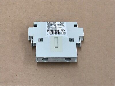 Siemens 3Rh1921-1Ea20 Auxiliary Switch Block Industrial Electrical