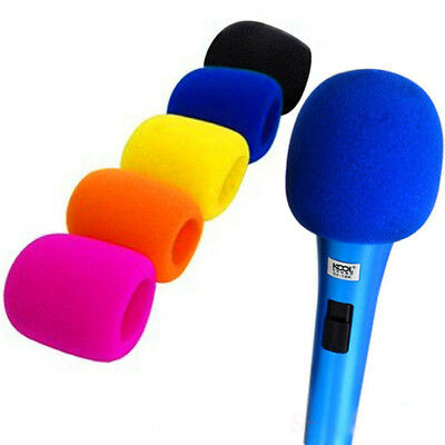 5Color Microphone Windscreen Foam Mic Cover Karaoke DJ Sponge Filter Wind Shield