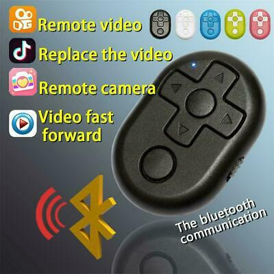SELFIE WIRELESS BLUETOOTH Camera Remote Control Video Flip Shutter IOS  Android