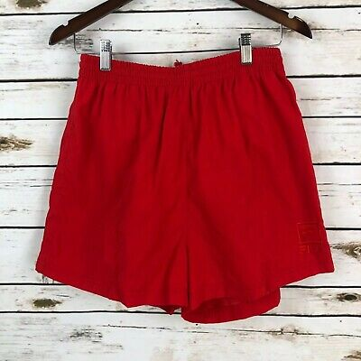 170aabadd1be New Vintage Fila 90's Mens Short Red Draw String Dead Stock Tennis Shorts  Small