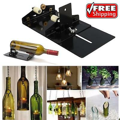 AU Glass Bottle Cutter Cutting Machine Tool Set Jar Wine Beer Recycle DIY Crafts