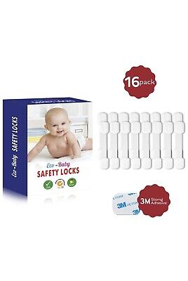 Eco-Baby Child Safety Cabinet Locks,Drawers, Oven, Toilet Seat, Fridge and More