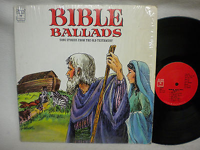Bible Ballads Song Stories From The Old Testament 33 Rpm Lp Very Nice