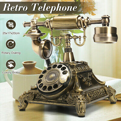 Vintage Antique Phone Retro Handset Old European Style Telephone Home/Office AU