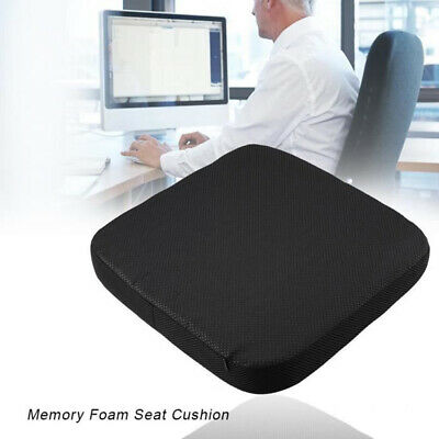 Memory Foam Office Chair Cushion Car Seat Pillow Coccyx Orthopedic Pain Relief #