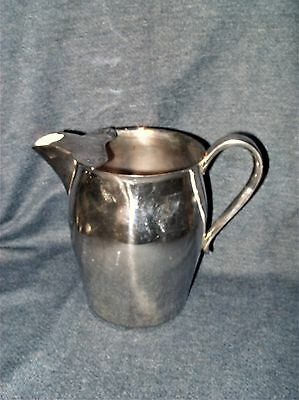 Vintage Paul Revere FB Rogers Silver Co 1883 Crown Trademark Water Pitcher EUC