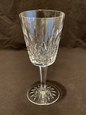 """Waterford Crystal Lismore Water Goblet Glass 6 7/8"""" H Sold Individually"""