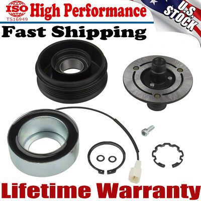 AC Compressor Clutch KIT Front Plate Bearing For MAZDA 3 2004-2009 NON TURBO US