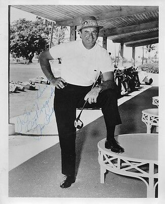 Golf Champion SAM SNEAD Vintage Signed Photo - Signed in the 1970s