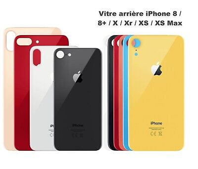 Vitre Arriére / Cache Batterie Iphone 8 / 8 Plus / X / XR / XS / XS Max