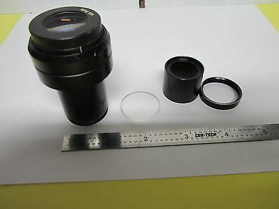 OPTICAL ZEISS PRO EYEPIECE MICROSCOPE OPTICS [bottom lens has hit] BIN#G5-H-12