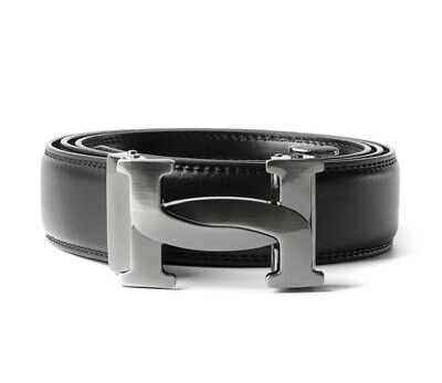 Womens Designer Belts Curved H Automatic Real Black Leather H Belt For Ladies