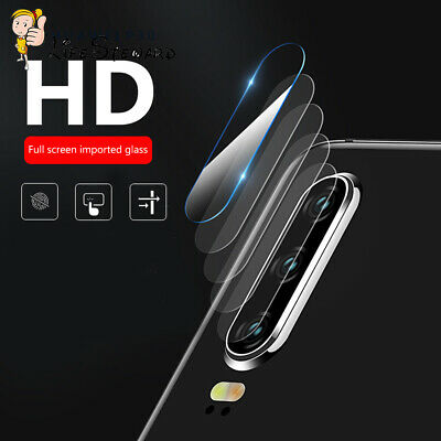 For Huawei P30 Lite Pro Cover Case Camera Lens Protector 9H & HD Glass Full Film