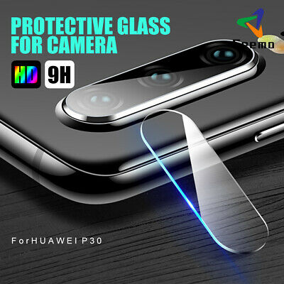 For Huawei P30 Lite Pro Cover Case Camera Lens Protector 9H HD Glass Full Film